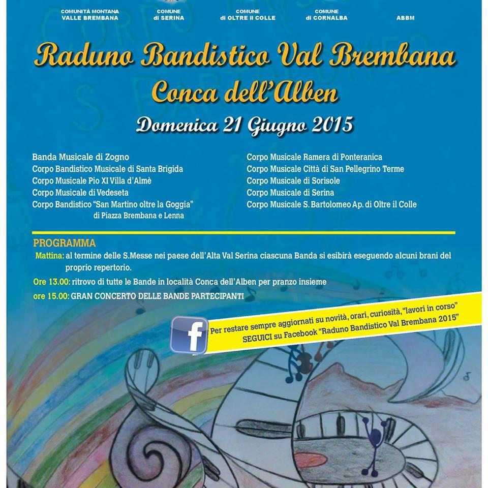 Raduno Bandistico Val Brembana 2015