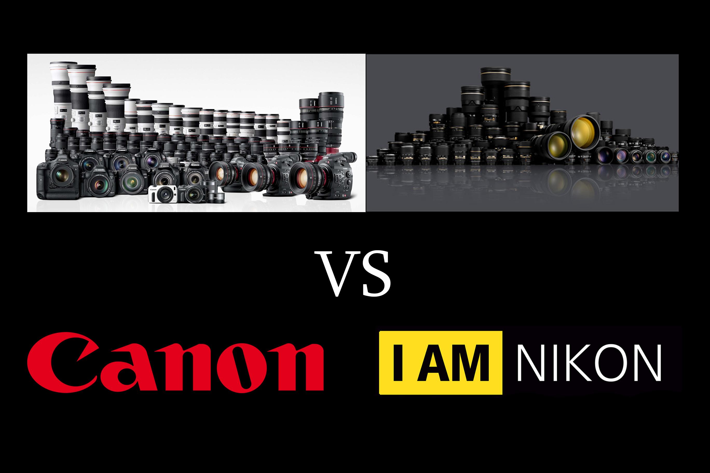 Canon o Nikon?